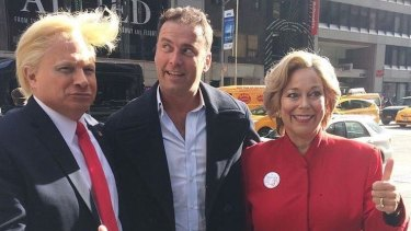 Australia's <i>Today</i> show hits the streets of New York ahead of the US election.