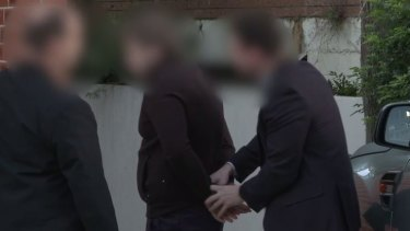 One of nine people being arrested over the $165 million tax fraud investigation.