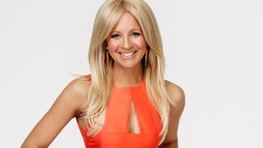 It's a girl for Carrie Bickmore and her partner Chris Walker.