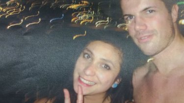 The Supreme Court was shown photos of Gable Tostee and Warriena Wright taken on his phone the night she died.