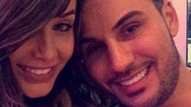 Salim Mehajer posted a photo of himself with his estranged wife Aysha on Instagram late on Sunday. The post has since been deleted.