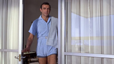 Bond didn't think to monetise his blue terry romper of 1964, for shame.