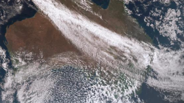 The cold front hit Victoria on Tuesday night.