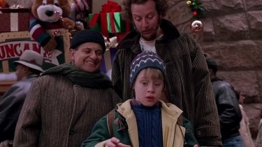 Jingle hell: not everyone has a cache of Christmas booby traps like Macaulay Culkin in Home Alone.