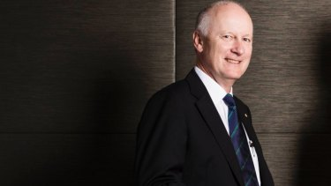 Outgoing Wesfarmers chief executive Richard Goyder downplayed the impact of the chaos.