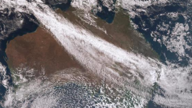 The cold front is tearing its way across Victoria, South Australia and Tasmania.