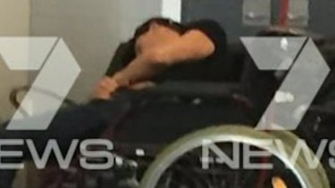 Grant Hackett was thrown off a Virgin flight from Adelaide for allegedly giving another passenger a nipple cripple.