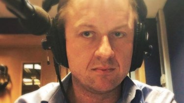 Scottish journalist and author Andrew MacGregor Marshall