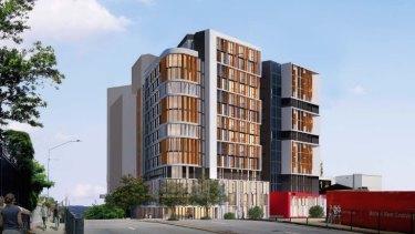 UniLodge's Vulture Street development will cost $110 million.