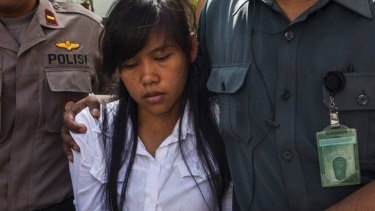 Mary Jane Veloso was spared the firing squad last year.