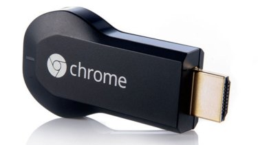 The first-gen Chromecast is difficult to squeeze into a tight spot, especially if your television is wall mounted.