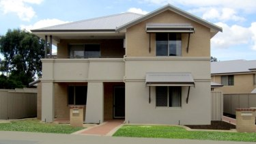 The six-bed Breathing Space Transition halfway house has just opened, and is an Australia-first