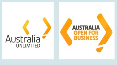 The Austrade logo released in 2010 (left) and the new logo.