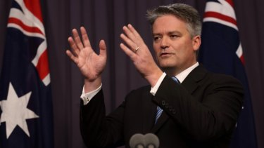 """""""Will Bill Shorten step up to the plate on budget repair in this Parliament?"""": Finance Minister Mathias Cormann."""