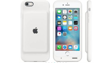 iPhones accounted for 69 per cent of Apple's total revenue.