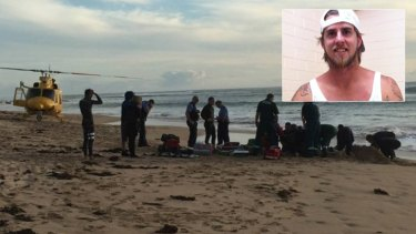 Ben Gerring is fighting for his life after a shark attack near Mandurah.