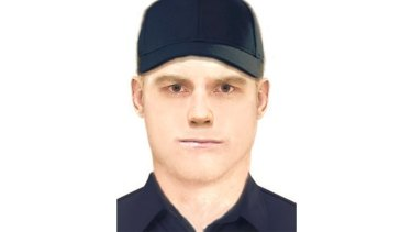 A computer-generated image of the man police wish to speak to over the Eaglemont burglary.