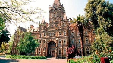 Melbourne University's Ormond College.