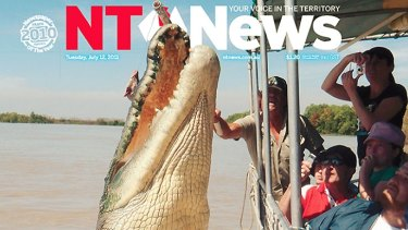 The NT News may very well be the first paper in the country to appoint a dedicated croc and UFO reporter.