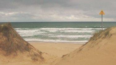 Williamson's Beach near Wonthaggi.