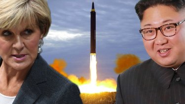 Julie Bishop is confident Kim Jong-un's nuclear ambitions can be halted.