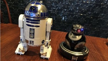 Programmable R2-D2 and BB-9E are the latest additions to Sphero's range of robotics Star Wars droids.