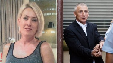 Comrie Cullen, left, was murdered by her estranged husband Christopher Cullen, right.