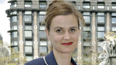 Murdered Labour MP Jo Cox.