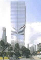 The tower proposed for 248-250 Sturt Street in Southbank has been rejected by Planning Minister Richard Wynne.