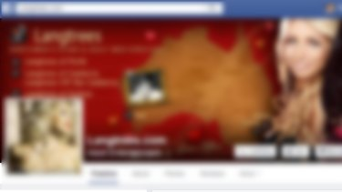 A screenshot of one a brothel's Facebook page.
