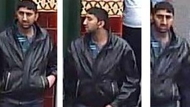 Images of the man police wish to speak to.