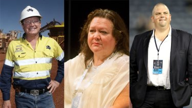 Where's the beef?: Andrew 'Twiggy' Forrest, Gina Rinehart and Nathan Tinkler have all invested in beef at one point.