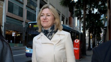 Court bid rejected: Margaret Cunneen, SC.