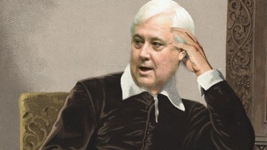 The emergence of Clive Palmer, poet.