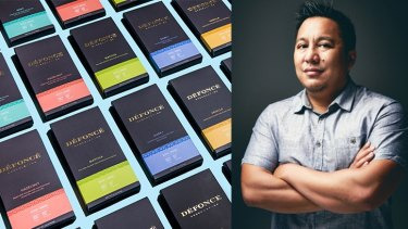Eris Eslao, a former Apple production manager, has started a high-end marijuana chocolate brand, Defonce, that was slated to be sold in Westfield.