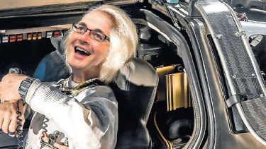 Daniel Andrews could be heading back to the future on East West Link. (Digitally altered image)