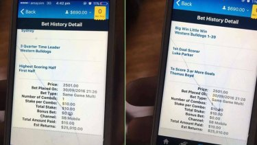 One Facebook-user suggested the punter now had enough money to fix his phone.