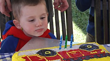 Missing three-year-old William Tyrell.