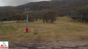 The view at Friday Flat at Thredbo from a couple of days ago.
