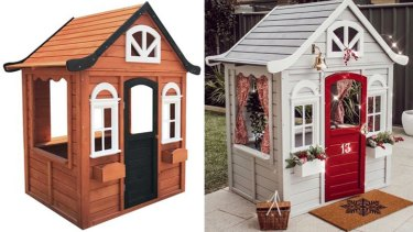 A hacked Kmart cubby house: is this prissiness what an Australian childhood has come to?
