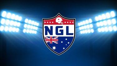 National Gridiron League logo.