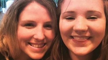 Croydon woman Courtney Handley and her niece Brooklyn McDonald.
