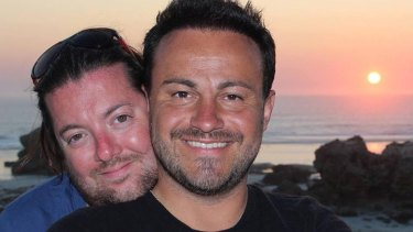 David and Marco Bulmer-Rizzi were on their honeymoon in Adelaide when David  was killed in a fall.