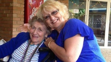 Marie Darragh, 82, with daughter Charli Matterson-Darragh.