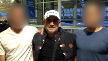 Khaled Khayat, pictured at Sydney Airport in 2014, is one of the men arrested.