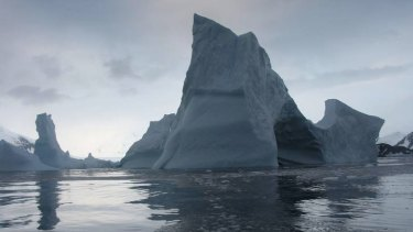 What remains of the Larsen B ice shelf might not last much longer.