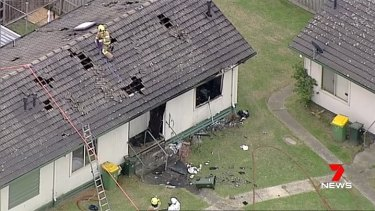A man died in the unit fire at Preston on Good Friday.