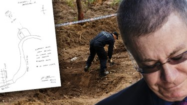 Michael Atkins drew police a map of where he buried Matthew Leveson in 2007.