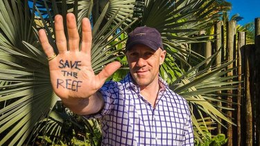 Perth based geologist Ric Davies was out to show support for a responsible resources industry