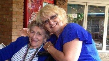 Marie Darragh, 82, with daughter Charli Darragh.